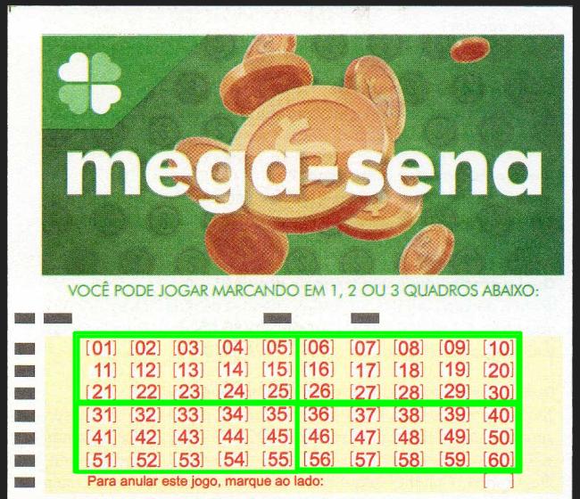 Estratégia dos 4 Quadrantes de 15 Números Cada para Jogar na Megasena